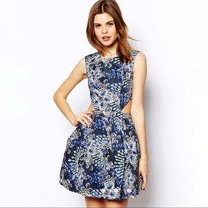 ASOS Design Side Cut Out Dress